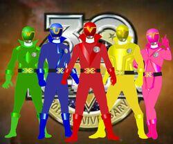 Super sentai spirits by riderb0y