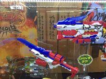 Alpha Dino Saber and Alpha Dino Blade Blaster