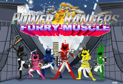 Power Rangers Furry Muscle