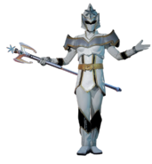 Mystic force white ranger transparent by camo flauge dcy9da0-fullview