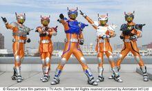 SRP Rangers as a Five man team