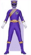 Purple Wild Force Ranger