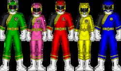 Power Rangers Jungle Steel