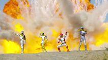 Jungle Fang Power Rangers