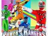 Power Rangers Train Guards