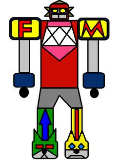 Power Rangers Furry Muscle Furry Megazord