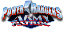 Power Rangers Army Patrol logo