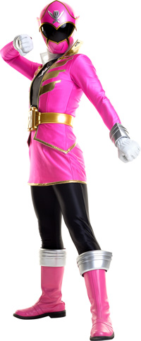 Pink Super Megaforce Ranger. SMF Pink  sc 1 st  Power Rangers Fanon Wiki - Fandom : pink power ranger child costume  - Germanpascual.Com