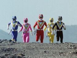 Supersonic Power Rangers