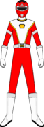 Red Turbo Charge Ranger