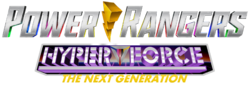 Power Rangers Hyper Force Next Gen Logo