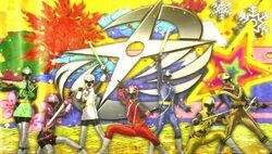 Seven Ninja Steel Rangers