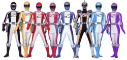 Operation Overdrive Rangers