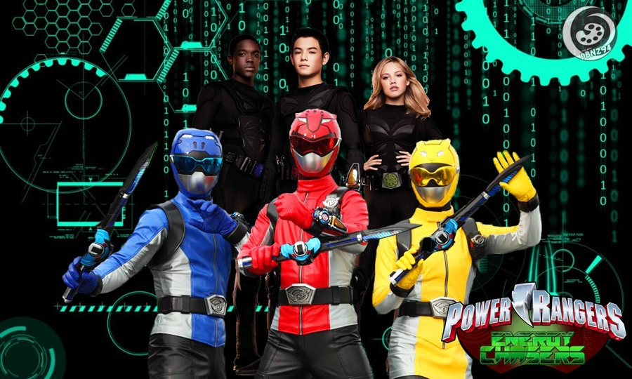 Power Rangers Energy Chasers