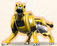 4. Yellow Cheetah Zord