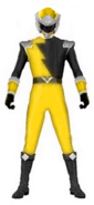 Gold Hyper Force Ranger