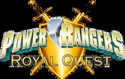 Power Rangers Royal Quest logo