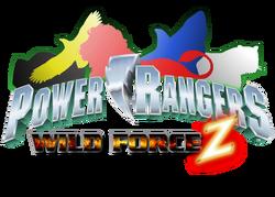 Power Rangers Wild Force Z logo