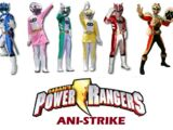 Power Rangers Ani-Strike