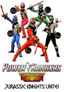 Power Rangers Jurassic Kingdom poster
