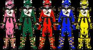 Super Shaolin Fury Rangers