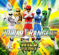 Power Rangers Wild Prime poster