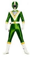 Green Supersonic Ranger LV3