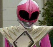 Normal Pink Ranger with Dragon Shield
