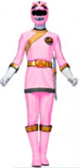Pink Wild Force Ranger