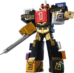 Predamax megazord power rangers fanon wiki fandom powered by wikia wild king predazord altavistaventures Choice Image