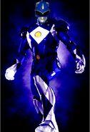 Iron blue ranger by megazord16-d6xltph