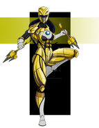 Yellow ranger by comicartist88-dcm41w5