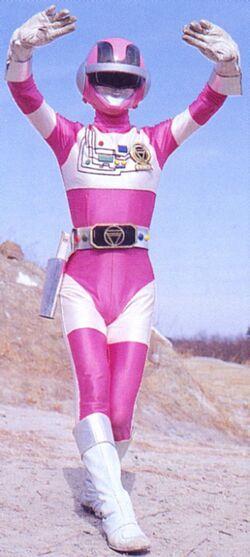 Hi-Tech Police Pink Ranger