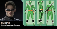 Hydris the Green Alien Ranger