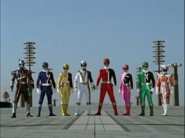 Dekarangers transformed