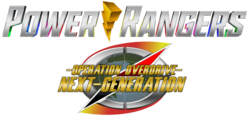 Power Rangers Operation Overdrive - The Next Generation Logo