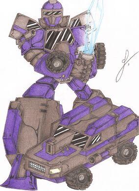 Techno Artillery Megazord-0