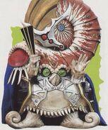 Caove Power Rangers Rock Chamberlain Dord B-fighter Kabuto