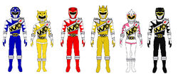 Power rangers prehistoric force by hbgoo-da202vv