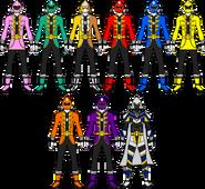 Uchuu Sentai Gokaiger Full Team