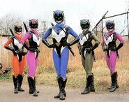 Feline Rush Rangers