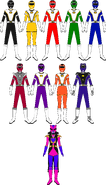 Power Rangers Turbo Charge (with Dark Queen Ranger)