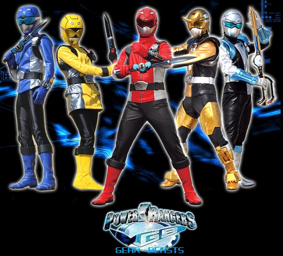 Power Rangers Gear Beasts Power Rangers Fanon Wiki Fandom