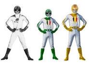 Three Mega World Legion rangers