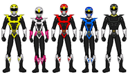 Power Rangers Neo Flight Squad