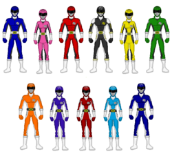 Power rangers sports skill by kaiserf11