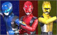 Go-Busters (Dice-O)