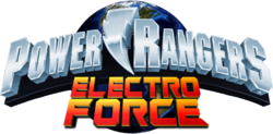 Power rangers electro force logo