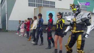 Go-Busters vs Gokaiger Henshin (Sub Indo)-1