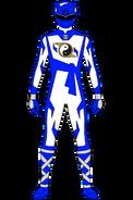 Shaolin Fury Blue Ranger